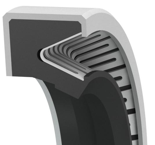 R530 – High runout, heavy-duty single-lip rotary shaft seal