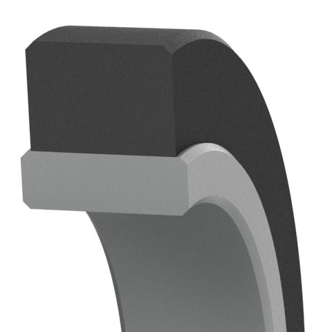 Bi-Directional Low-Friction Heavy-Duty Hydraulic Rod Seal