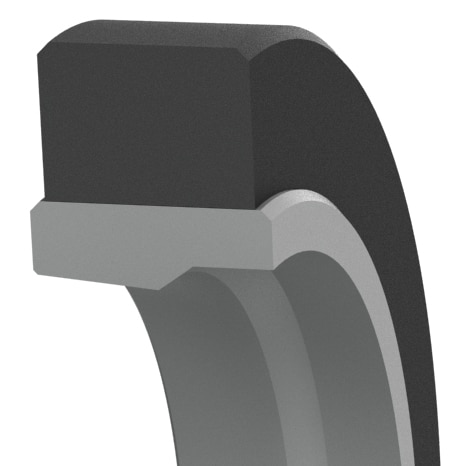Low-Friction Heavy-Duty Hydraulic Rod Buffer Seal