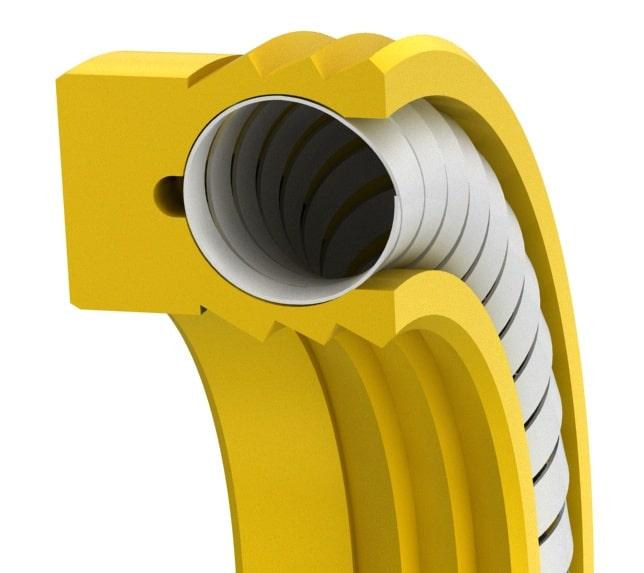 Multi-lip HS-Spring Rod or Piston Seal