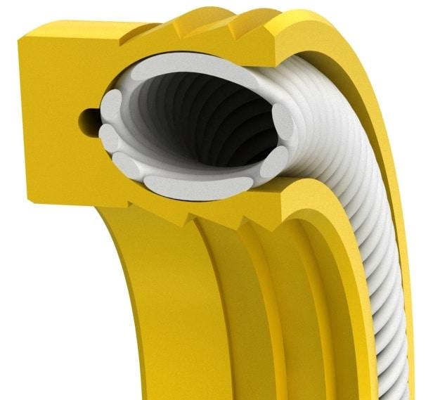 Multi-lip SC-Spring Rod or Piston Seal