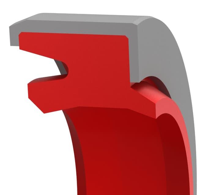 Press-in Double-Lip Snap-In Straight-Lip Hydraulic Wiper