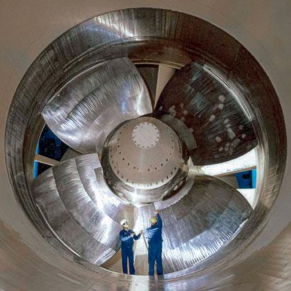 Seal for Large Diameter Turbine